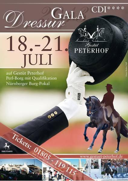 Peterhof Dressur Gala 2013